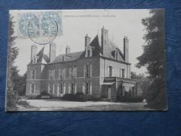 Brinon Sur Sauldre  Le Coudray - Coll. Le Marchand - Circulée 1915 - L196 - Brinon-sur-Sauldre