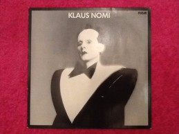 Vinyle 33 Tours Klaus Nomi 1982 - Discos De Vinilo