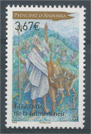 Andorra (French Adm.), Legend Of The First Snow, 2015, MNH VF - French Andorra