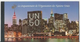 NU Genève:  Carnet De Prestige  293 ** ( 293/ 304 - Portraits - UNO