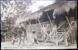 VIETNAM  INDOCHINE MAISON D'UN COLON EN COCHINCHINE - Viêt-Nam