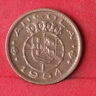 ANGOLA  50  CENTAVOS  1954   KM# 75  -    (Nº11567) - Angola