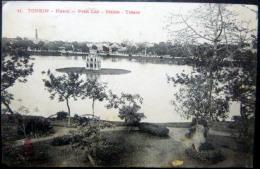 VIETNAM  INDOCHINE  HANOI PETIT LAC MAIRIE TRESOR  DIEULEFILS EDITEUR - Viêt-Nam
