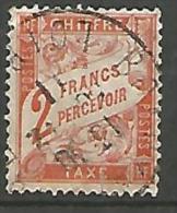FRANCE TAXE N� 41 OBL PTITE COUPURE