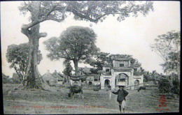 VIETNAM  INDOCHINE TONKIN SONTAY PAGODE DE PHU XA    EDITION DIEULEFILS - Viêt-Nam