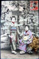 VIETNAM  INDOCHINE SAIGON  DEUX BELLES FEMMES JAPONAISES  EROTISME - Viêt-Nam