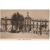 JNTP7765-LFTD1908.Tarjeta Postal De JAEN.Edificios,coche,arboles Y Personas..DIPUTACION PROVINCIAL.Jaen. - Jaén