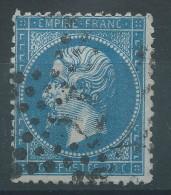 Lot N°28217    N°22, Oblit étoile Chiffrée 17 De PARIS ( R. Du Pont-Neuf ) - 1862 Napoleon III