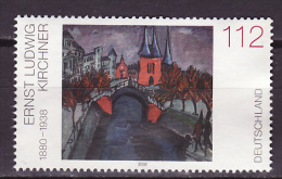 Allemagne Fédérale - Germany - Deutschland 2002 Y&T N°2109 - Michel N°2279 Nsg - 112c Oeuvre De E L Kirchner - Neufs