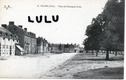 DEPT 18 ; Culan , Place Du Champ De Foire - Culan