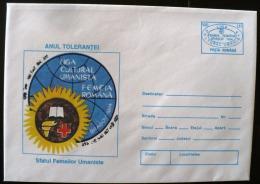 ROUMANIE Astrologie, Zodiaque,  SOLIDARITATEA FEMEILOR UMANISTE, Entier Postal Emis En 1994. The Secondaire - Astrologie