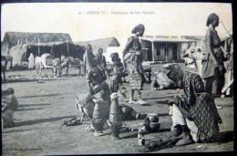 DJIBOUTI   VENDEUSES DE LAIT SOMALIS MARCHE COMMERCE  ETHNOLOGIE  COUTUMES - Djibouti