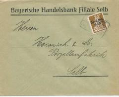 SELB - Bayerische Handelsbank  -  Big Letter , Dispatch = 4,00 EURO - Briefe U. Dokumente