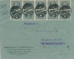 HANNOVER - 3.9.23  ,  Bankhaus E. Jordan & Co.  -  Big Letter , Dispatch = 4,00 EURO - Briefe U. Dokumente
