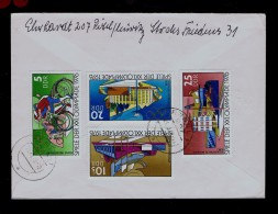 Olympic Games MONTREAL´76 Jeux Olympics Sports Bicyclets Cyclisme Bikes Stadium Cover 1978 POLSKA Pologne DDR Sp443 - Stamps