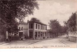 ALTE AK  SALIES-de-BEARN / Dep. Py.-Atl. - Boulevard Saint Gully -  Ca. 1910 Gedruckt - Salies De Bearn