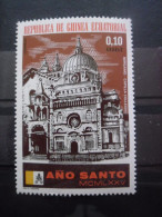 GUINEE EQUATORIALE Timbre Année Sainte 1975 Neuf ** - Äquatorial-Guinea