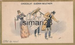 CHROMO - CHOCOLAT GUERIN-BOUTRON - EFFET DE RECUL - Guerin Boutron