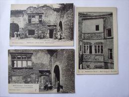 Lot De 3 Cpa MARVILLE  (55)  Meuse - Maisons Espagnoles - France