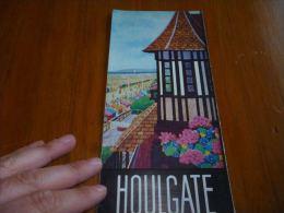 CB5 Ancien Document Touristique Houlgate - Tourisme