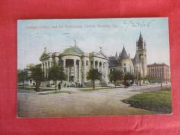 - Texas> Houston Library & Church     Ref 1793 - Houston