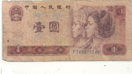 --ZHONGGUO RENMIN YINHANG-----1 Yuan--1980-- - Chine