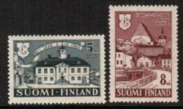 1946 Finland, Borgå-Porvoo Complete Set **. - Unused Stamps