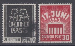 Berlin Minr.110/111 Gestempelt - Gebraucht