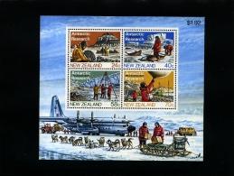 NEW ZEALAND - 1984  ANTARCTIC INVOLVEMENT  MS   MINT NH - Blocchi & Foglietti