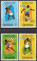 Ghana - Mi-Nr 646/649 Postfrisch / MNH ** (w595) - Estate 1976: Montreal