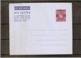 Air Letter Postal Stationary Unused - KUWAIT (to See) - Koweït
