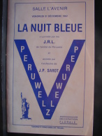 AF. Lot. 455. Péruwelz. La Nuit Bleu; 1982 - Programas