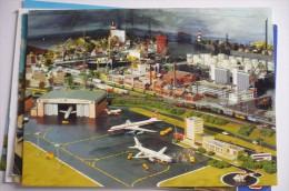 AIRPORT AEROPORT FLUGHAFEN        MINILAND  MODELLEISENBAHN SCHAU - Aérodromes