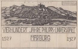 DR Privat-Ganzsache Minr. PP101 C5/02 SST Marburg - Deutschland