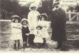 Louis Blériot Et Sa Famille   -  CPM - Aviadores