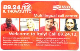 IL TROVATUTTO MULTILINGUAL SCHEDA TELEFONICA TELECOM 2515 - Italia