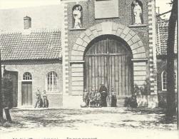 CPA - WESTMALLE - Cistercienzer Abdij - Abbaye - Ingangpoort - Cachet Relais  // - Malle