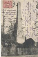 --DOLE--MONUMENT DES COMBATTANTS DE 1870-71--ECRITE EN 1903--UNE TRACE DE PLI-- - Dole