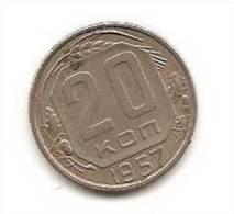 Russia  20 Kopeek 1957 Year USSR - Russia