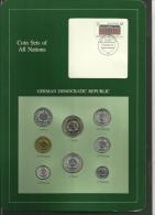 GERMAN DEMOCRATIC REPUBLIC - Set Of 7 Uncirculated Coins - 1 Pfennig To 5 Mark - 1979 & 1981 - [ 6] 1949-1990 : RDA - Rep. Dem. Alemana