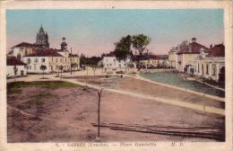 ALTE AK  SABRES / Dep. Landes  - Place Gambetta - Ca. 1915 - Sabres