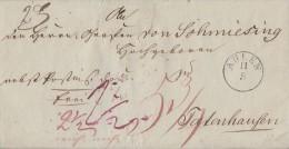 Brief Ahlen 11.5.1846 Gel. Nach Totenhausen Ansehen !!!!!!!!!!!!! - Deutschland