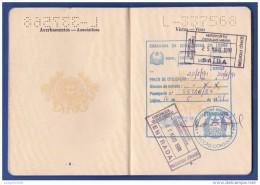 PASSPORT / PASSAPORTE . PORTUGAL - CACHETS . REPÚBLICA GUINÉ-BISSAU, EMBAIXADA GUINÉ-BISSAU EM LISBOA - Historische Documenten