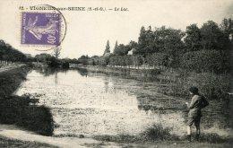 C4214 Cpa 91 Vigneux Sur Seine - Le Lac - Vigneux Sur Seine