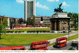 HYDE PARK CORNER  WELLINGTON ARCH  AND THE HILTON HOTEL     (VIAGGIATA) - Londres