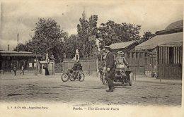 CPA   75   UNE ENTREE DE PARIS---PRECURSEUR - France