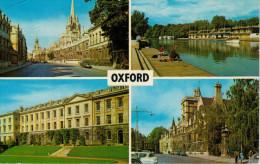 OXFORD    MULTIVUE     BALLIOL AND WORCESTER COLLEGE      (VIAGGIATA) - Oxford