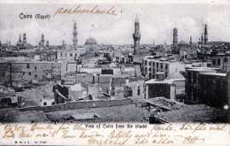CAIRO (Egypt) - View Of Cairo From The Citadel, Gel.1905 - Kairo