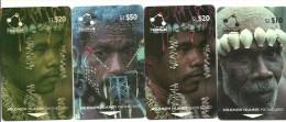 RARE  SERIE    CARTES   VISAGES   DONT LA 50DOLLARS - Solomoneilanden