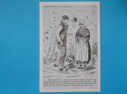 17 : CARTE HUMORISTIQUE : LES PAYSANS De GAUTIER No 26 , Carte En Trés Bon état, Reproduction - Non Classificati